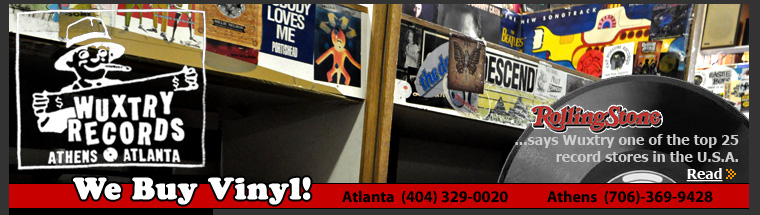 Wuxtry Records: Atlanta / Athens, GA Record Store - Buy Sell